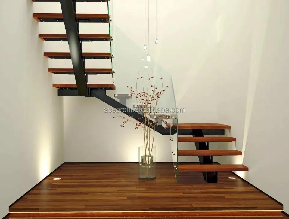 Best Selling Steel Single Stair Stringer Solid Oak Wooden Steps | Solid Oak Stair Stringers | Mono Stringer | Handrail | Steel Stair | Deck Stairs | Flooring
