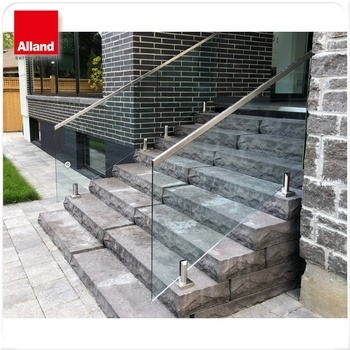Garden Stair Railing Handrails For Outdoor Steps Glass Stair   Metal Handrails For Steps   Diy   Stair   Single Post   Victorian   Small