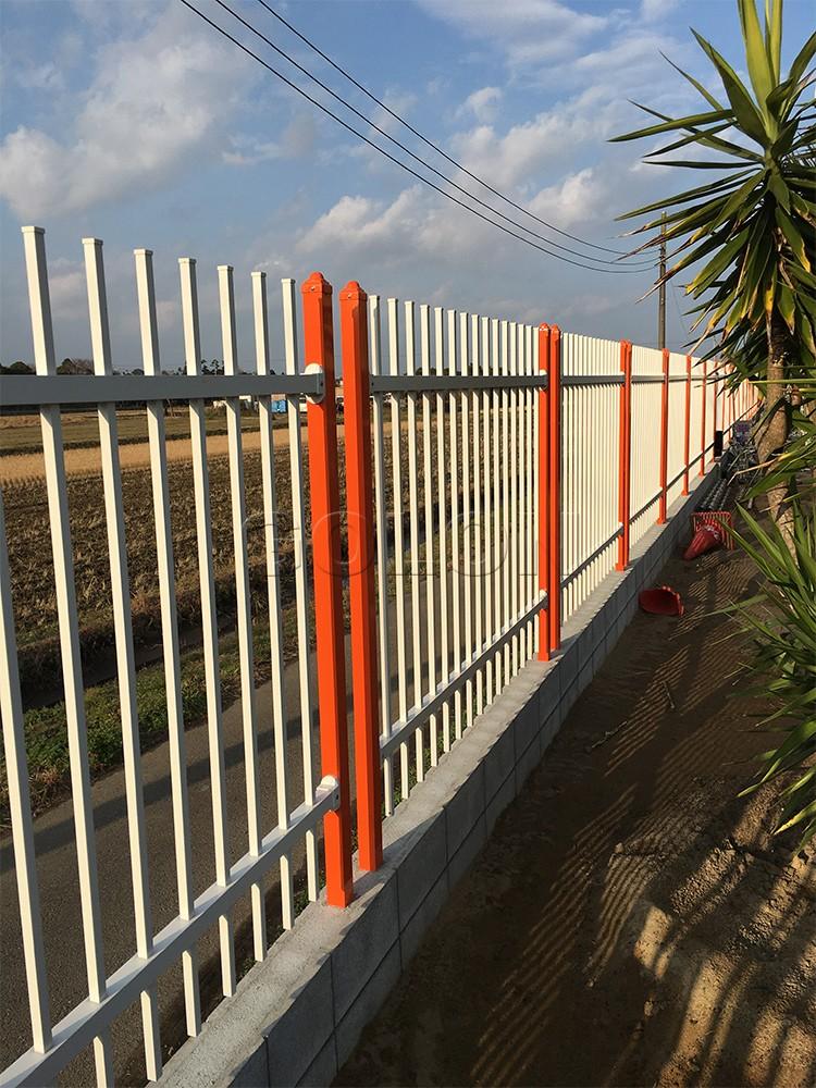 2016 New Latest Cheap Yard Wrought Iron Fences