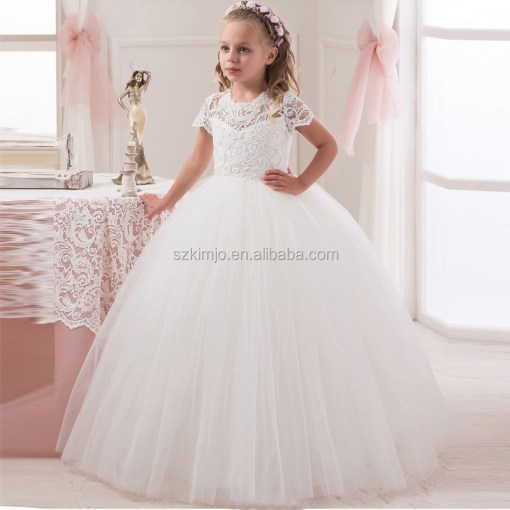 Wholesale beautiful first communion dresses   Online Buy Best     Wholesale Lovely Lace Flower Girl  strong Dress  strong  for Wedding 2017