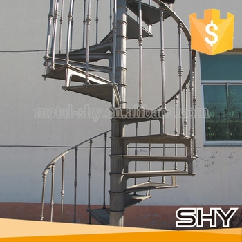 Cast Iron Used Metal Spiral Staircases Low Cost Staircase Design | Metal Spiral Staircase Cost | Iron | Deck | Stainless Steel | Stair Parts | Staircase Kits