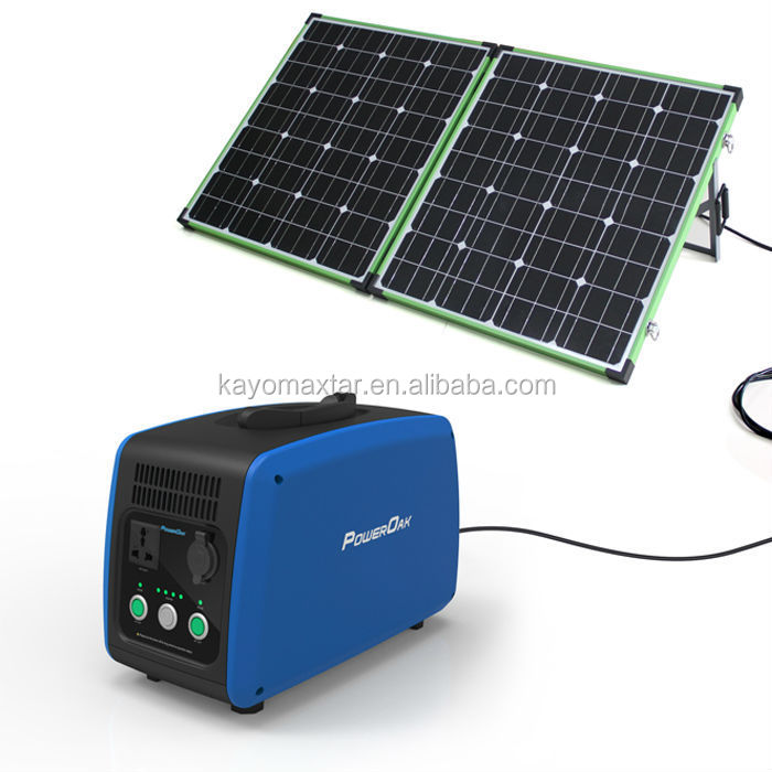 Portable Solar Power Station Camping