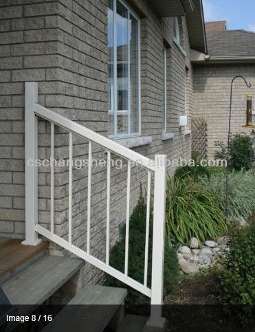 Aluminum Outdoor Stair Railings Buy Outdoor Stair Railings | Aluminum Outdoor Stair Railing | 2 Step | Pressure Treated Deck Black | Commercial | Modern | Front Entrance