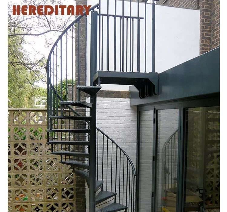 Lowes Prices Outdoor Snail Iron Stair Steps Spiral Staircase   Outdoor Spiral Staircase Lowes   Treads Spiral   Wood Treads   Arke Eureka   Glass Railings   Slip Stair