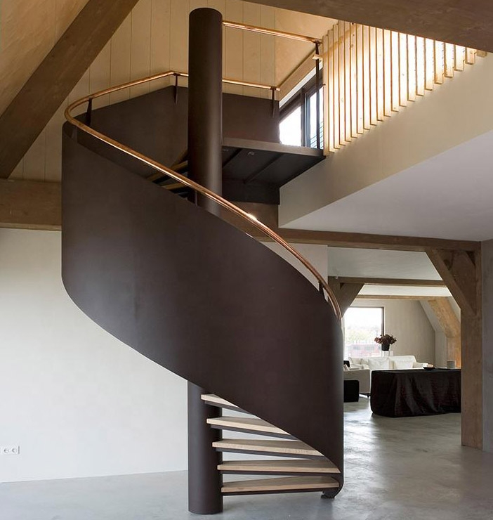 Duplex House Spiral Stairs Steel Steps Spiral Staircase Buy | Duplex House Steps Design | Simple | Living Room | Outside | Building | Circular