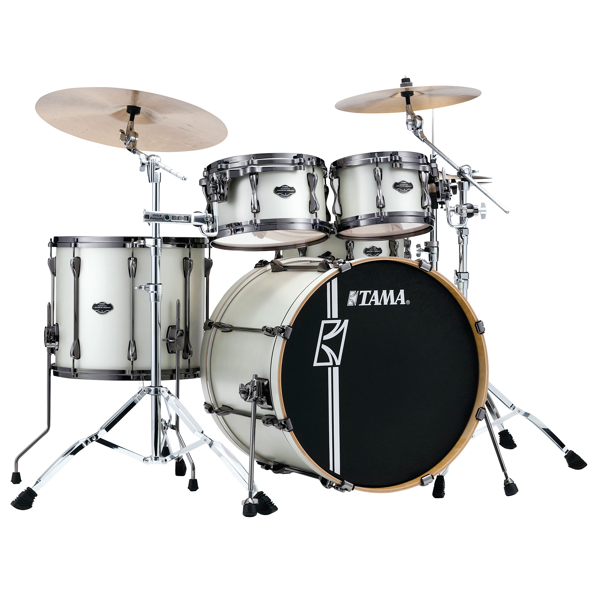 Tama Superstar Custom 22  Satin Arctic Pear      Drum Kit Drum Kit Tama Superstar Custom 22 Satin Arctic Pear