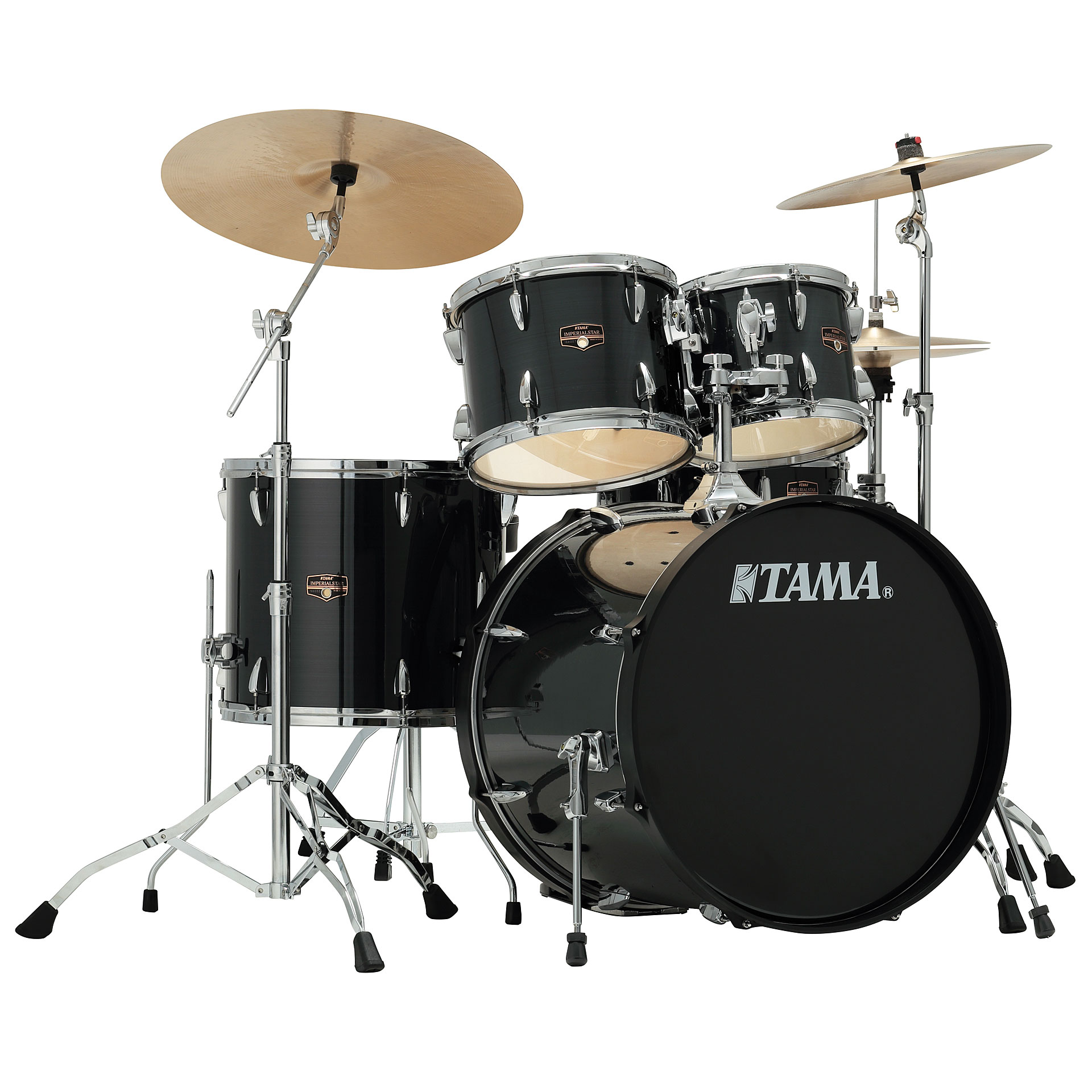 Tama Imperialstar 22  Hairline Black      Drum Kit Drum Kit Tama Imperialstar 22 Hairline Black