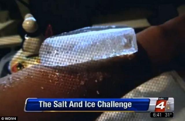 Challenge Ice Burn And Salt