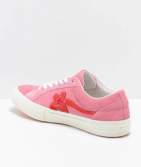 Converse x Golf Wang One Star Le Fleur Geranium Shoes | Zumiez