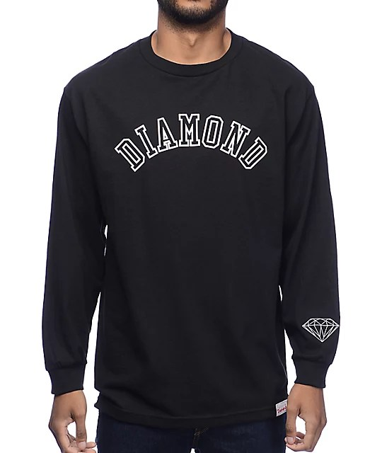 Diamond Supply Co Long Sleeve Shirts