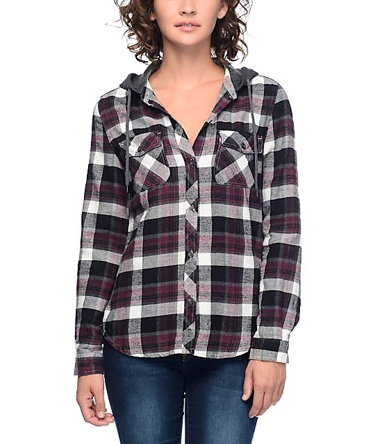 Purple And Blue Flannel