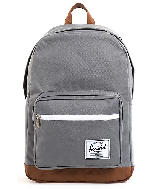 Herschel Supply Pop Quiz Grey Backpack | Zumiez