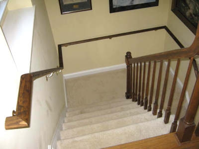 Grab Bars Hand Rails Transfer Aids Sch*Ff*R Construction   Stair Rails For Elderly   Stair Climbing   Down Stairs   Wood   Cmmc Handrail   Pipe
