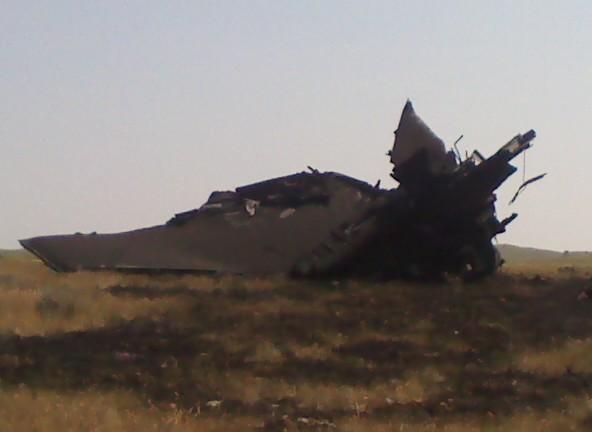 B 1 Bomber Crash