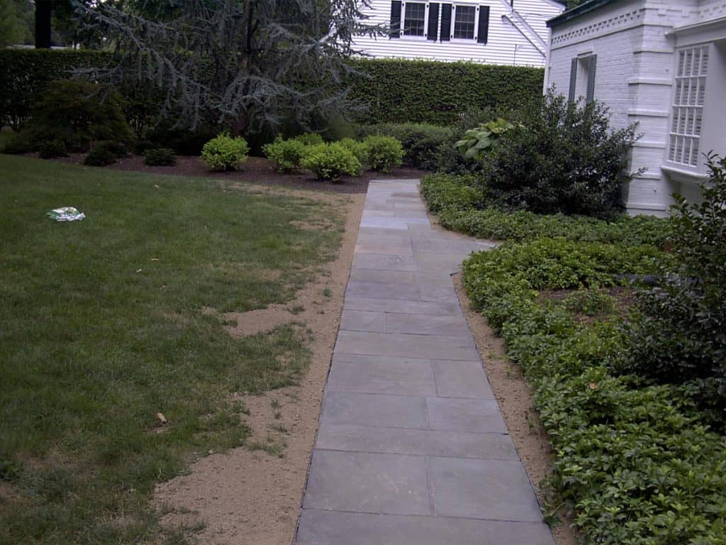 Before Amp After Natural Stone Patios Amp Walkways Schultz S