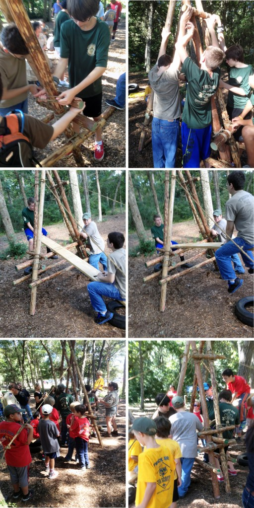 Camp Seesaw Video And Photo Montage Scout Pioneering