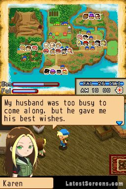 All Harvest Moon: Island of Happiness Screenshots for ...