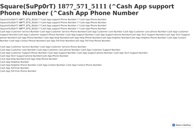 square-supp0rt-1877-571-5111-cash-app-support-phone-number ...