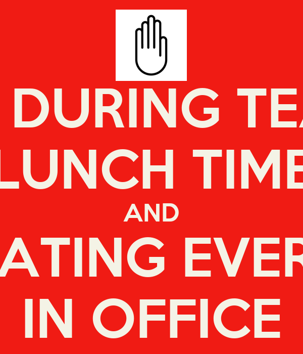What Time Does Lunch End