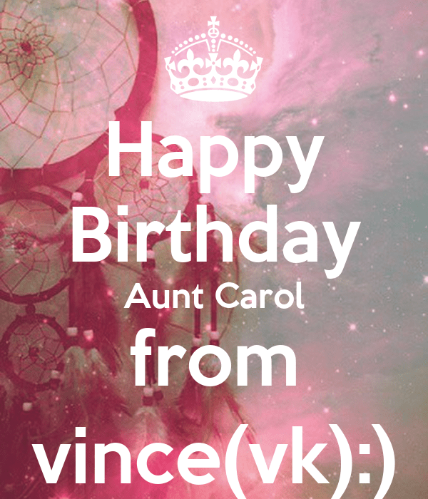 Keep Calm And Happy Birthday Vincent