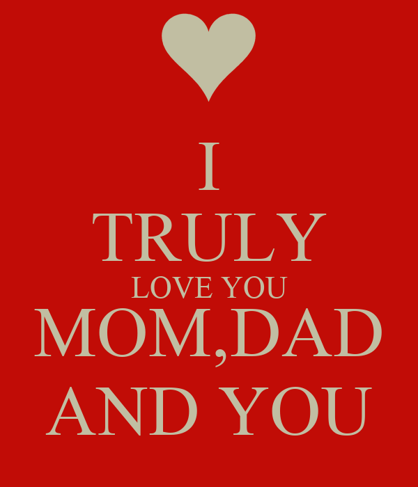 I Love You Mom Dad Wallpaper - impremedia.net