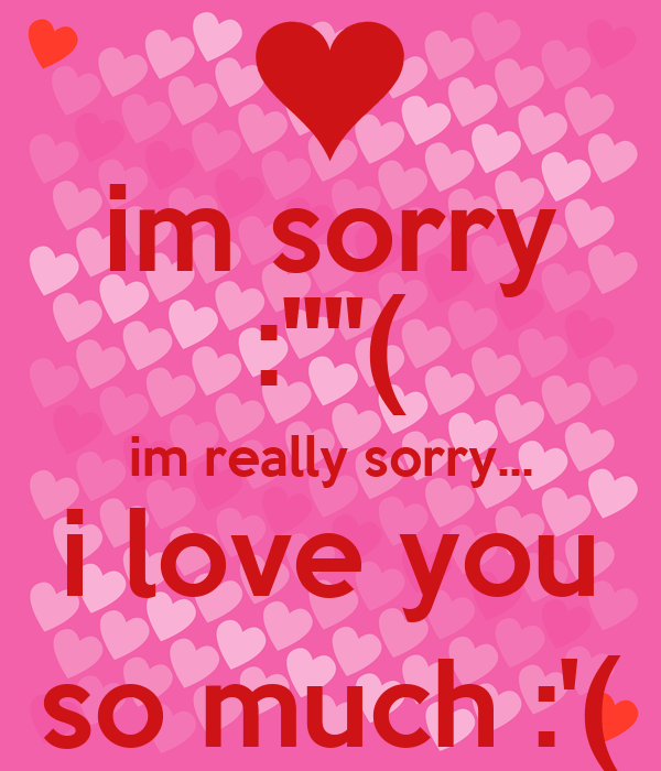 Im Sorry Baby I Love You Quotes ✓ Love Quotes