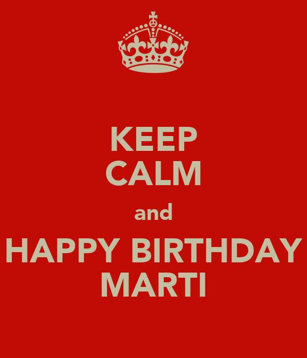 Keep Calm And Be Martinator