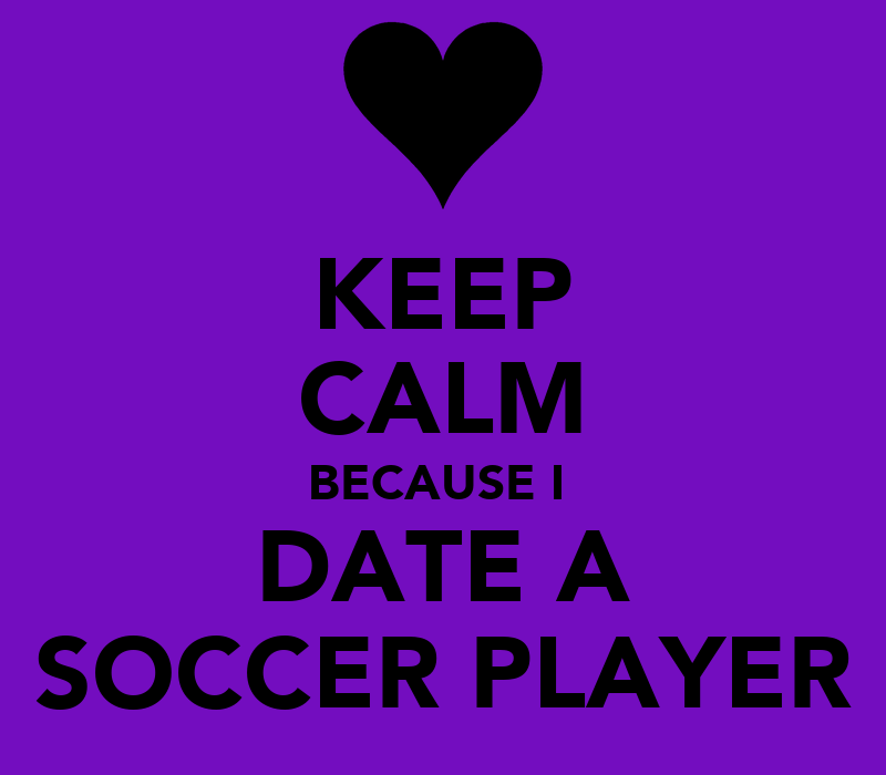 Keep Calm And Date A Soccer Player T Shirt