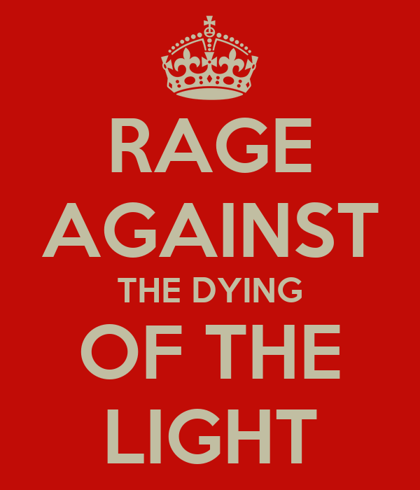 Rage Against Dying Light