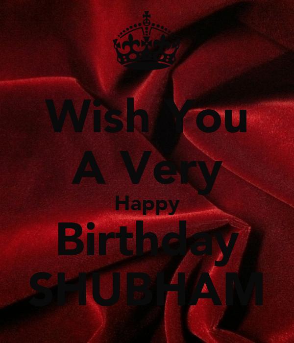 Happy Birthday Cake Shubham