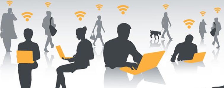 বিভিন্ন ডিভাইস থেকে Wi ফাই ব্যবহার করে মানুষ