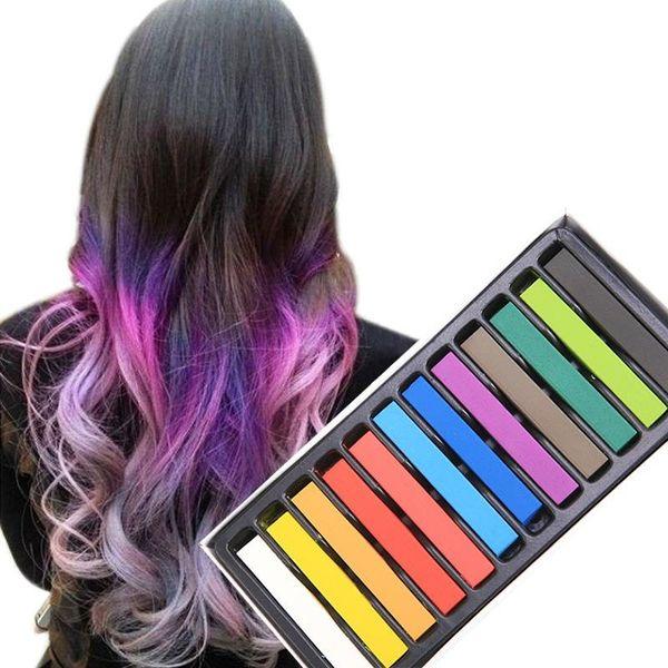 Färgning av mörkt hår