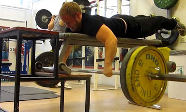 """The """"Seal Row"""": A Unique Exercise For A Bigger Back"""
