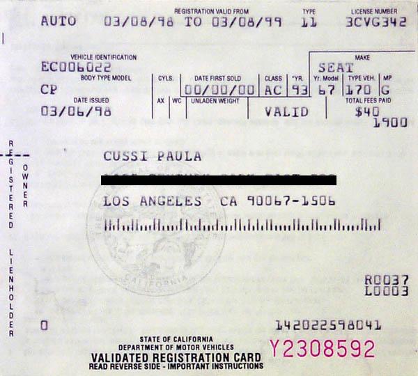 How Renew Car Registration Ca