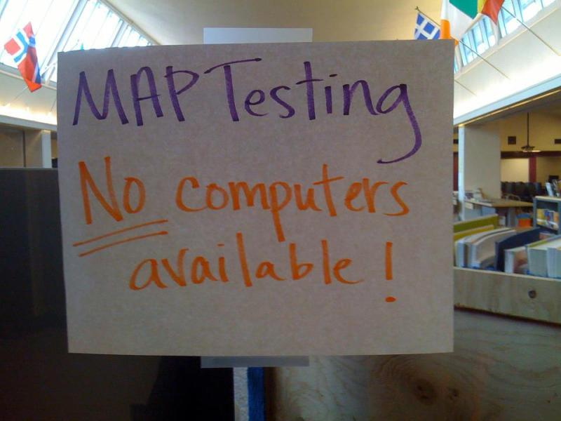 15 Reasons Why the Seattle School District Should Shelve the MAP     MAP test