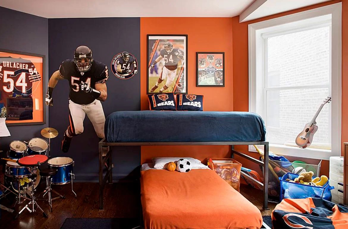 Best Kitchen Gallery: 47 Really Fun Sports Themed Bedroom Ideas Home Remodeling of Kids Sports Themed Bedroom Ideas  on rachelxblog.com