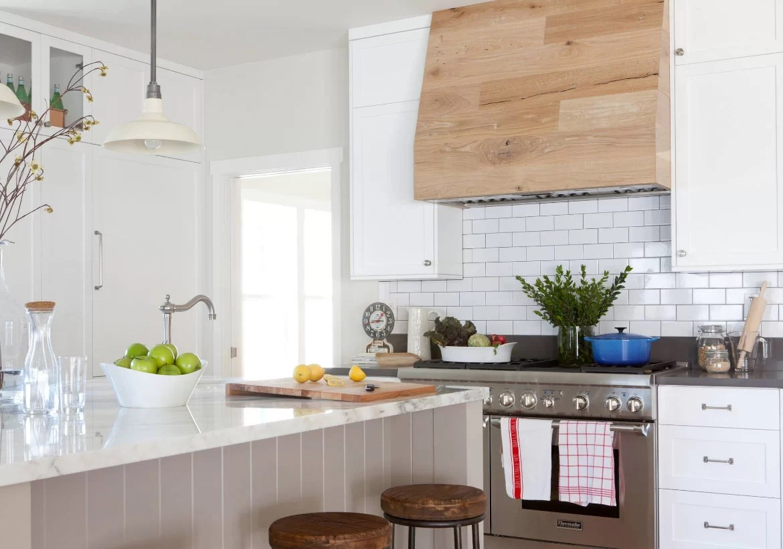 Best Kitchen Gallery: Choosing The Perfect Metal Range Hoods Or Wood Range Hoods Home of White Farmhouse Kitchen Hood Designs on rachelxblog.com