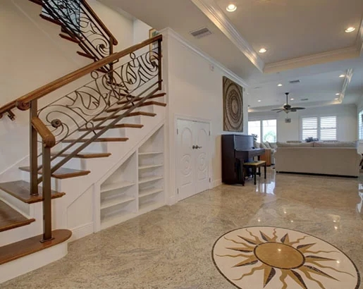 95 Ingenious Stairway Design Ideas For Your Staircase Remodel | Steps Design In Hall | Duplex House | Style Indian | Concept | Beautiful | Front Main Entrance