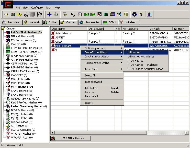 Audit Web Security
