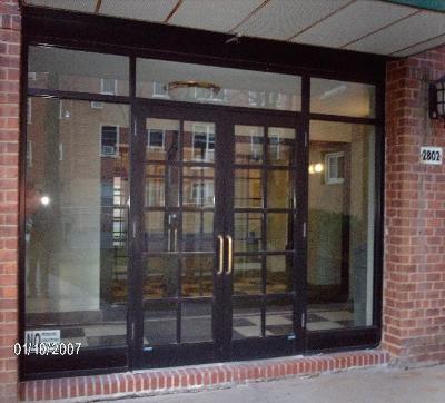 Pair Of Dark Bronze Anodized Aluminum Door W Frame Side