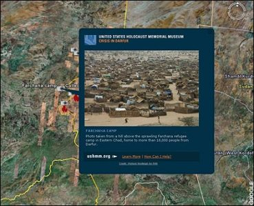 Google Earth maps  genocide  in Darfur   Telegraph Google Earth maps  genocide  in Darfur