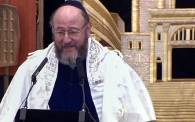 Chief Rabbi S Call To Beat Swords Into Ploughshares