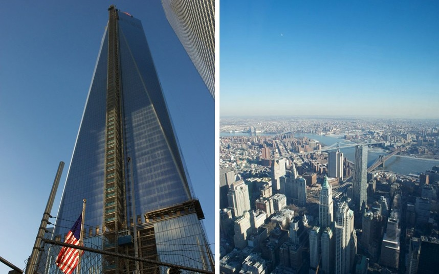 World Tower Trade North Twin Towers Center