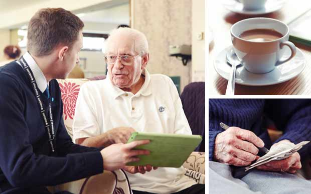 Tablet Training For The Elderly Your Bank Telegraph