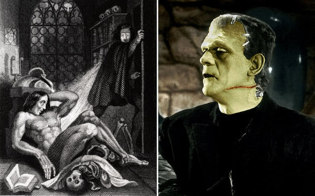 Frankenstein exhibition: how the monster changed shape ...
