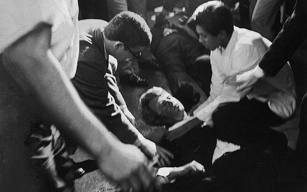 Busboy describes Bobby Kennedy's final moments - Telegraph
