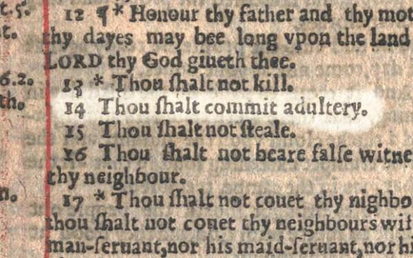 10 commandments bible # 30