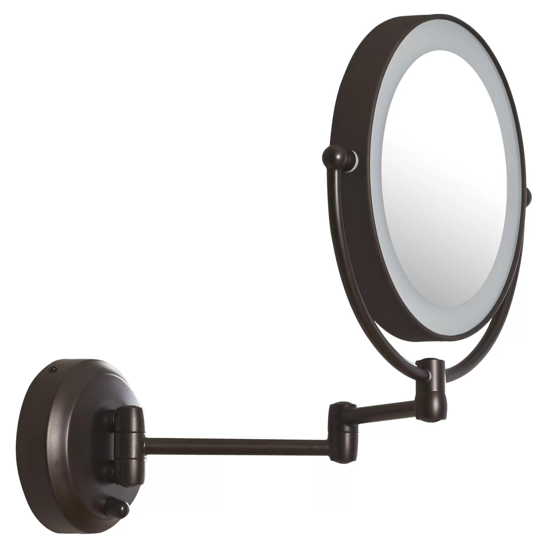 Led Light Magnifying Mirror