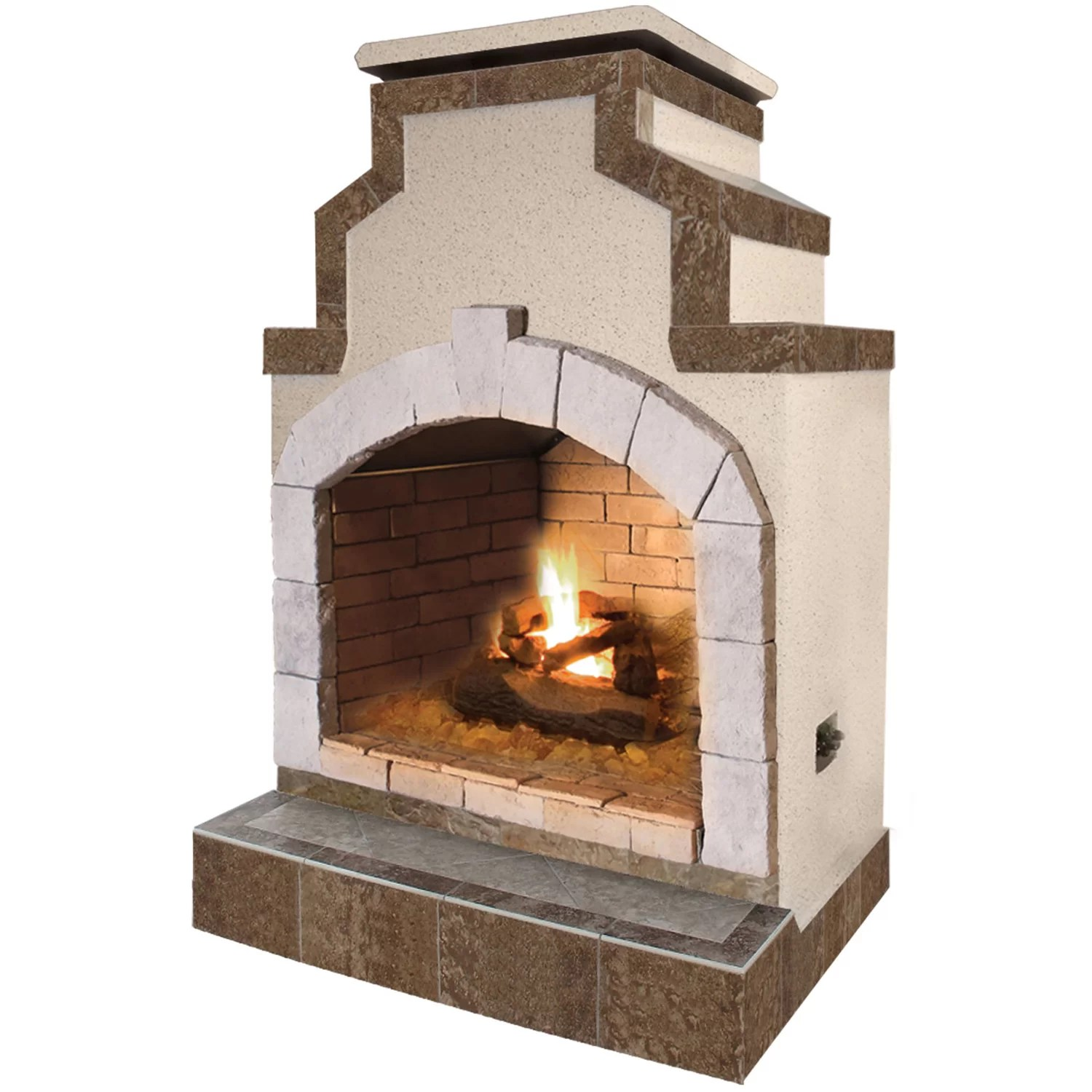 Outdoor Fireplace Lowes