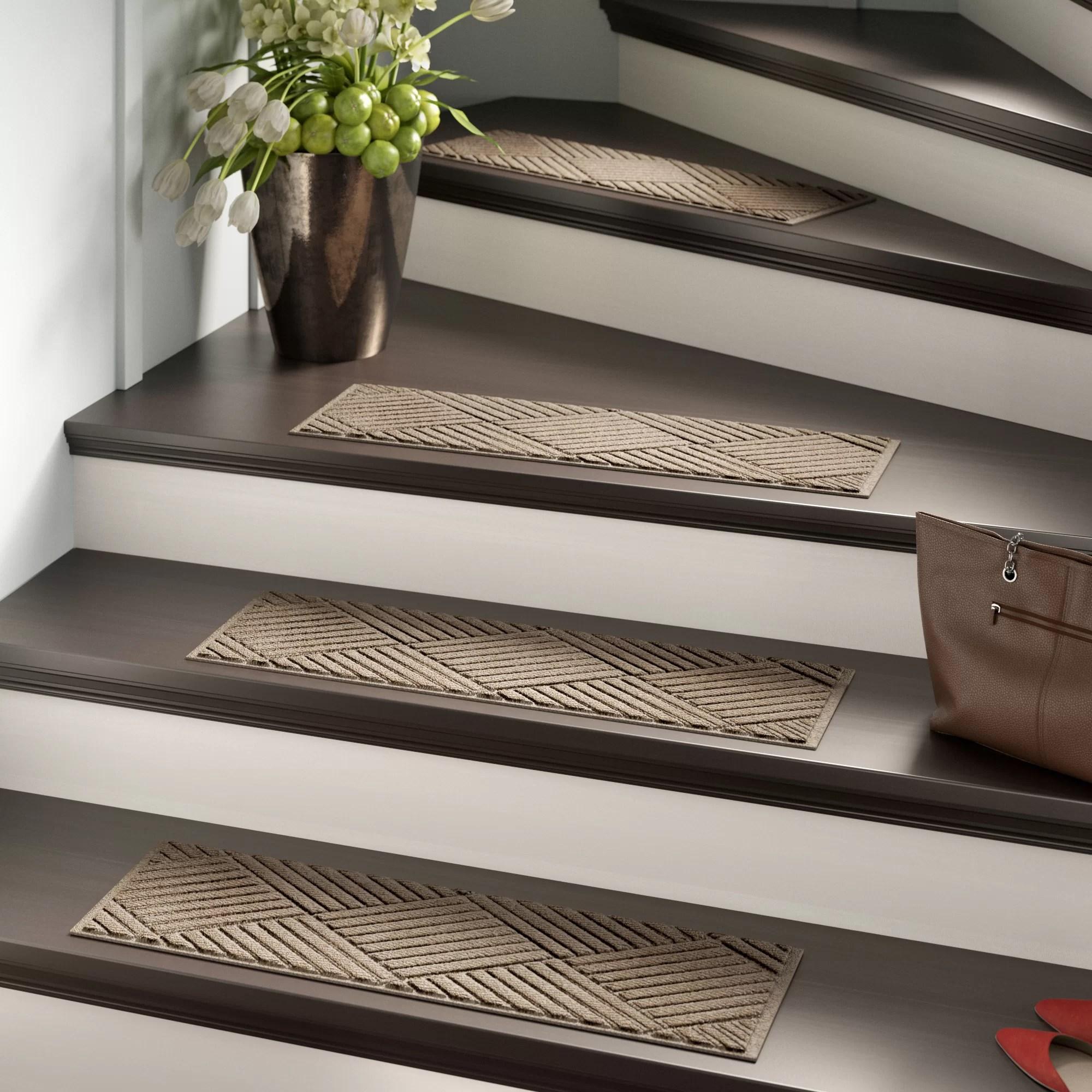 Stair Tread Rugs You Ll Love In 2020 Wayfair   Stair Step Carpet Runners   Hallway Carpet   Walmart   Flooring   Non Slip Stair   Wall Carpet